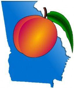Georgia peach state